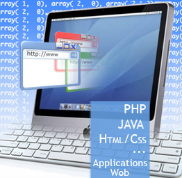 PHP, javascript, HTML/CSS - Applications web